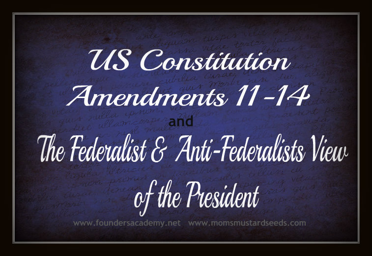 US Constitution Amendments 11 to 14