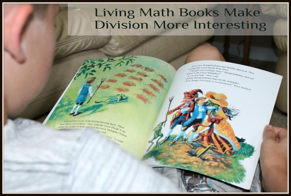 Living Books Make Division More Interesting