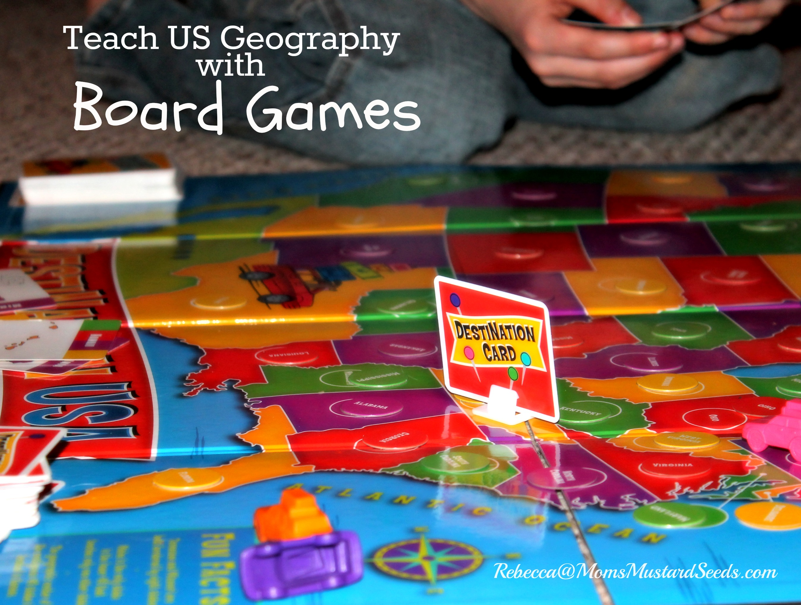 US Geography With Board Games