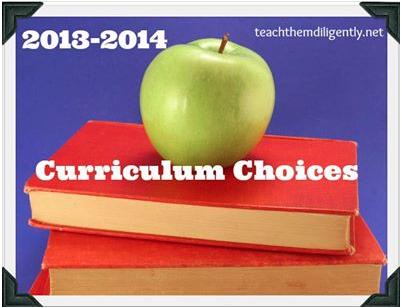 2013-2014 Homeschool Curriculum MomsMustardSeeds.com
