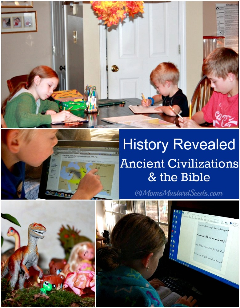History Revealed Review and Giveaway from Answers in Genesis and Mom's Mustard Seeds