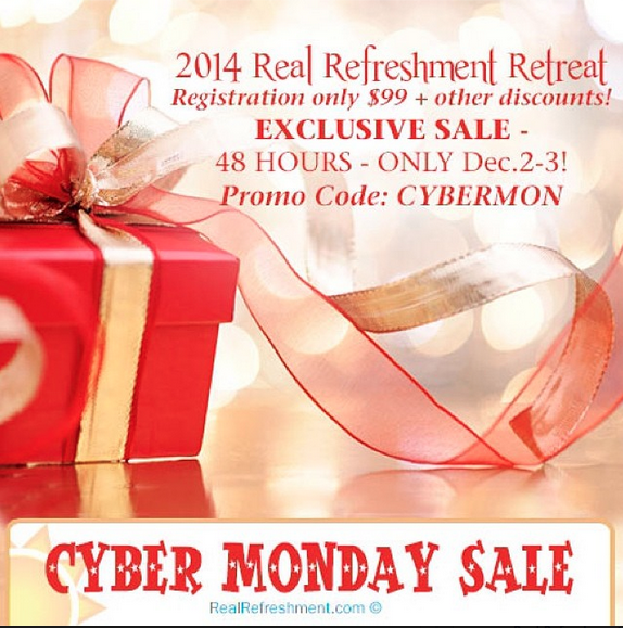 Real Refreshment Cyber Monday Sale