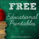 Free Educational Printables on Moms Mustard Seeds