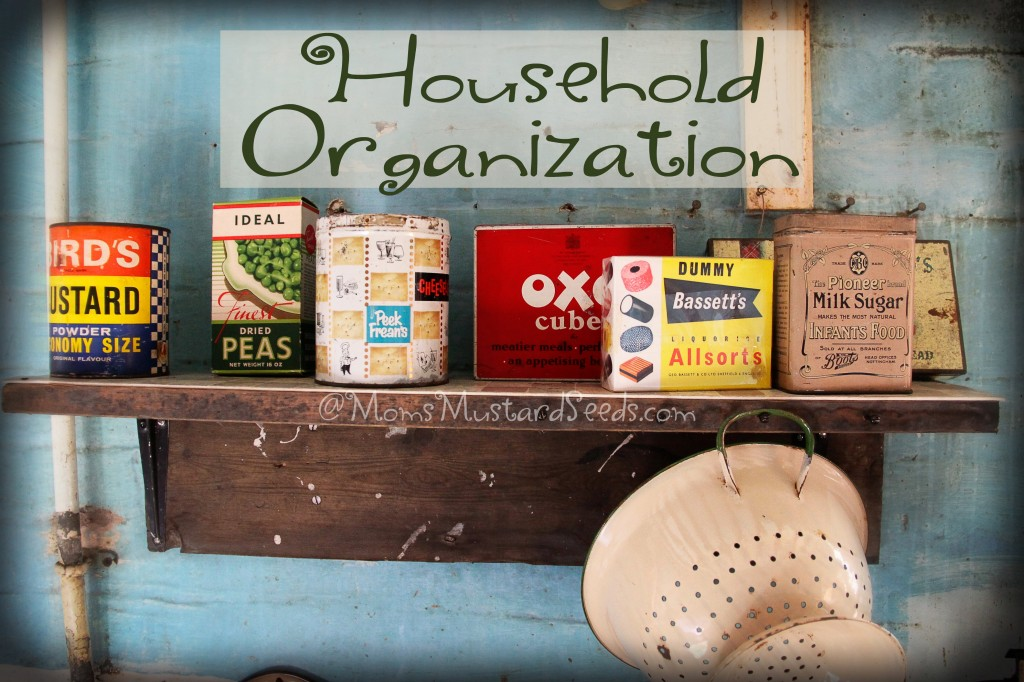 Household Organization Tips